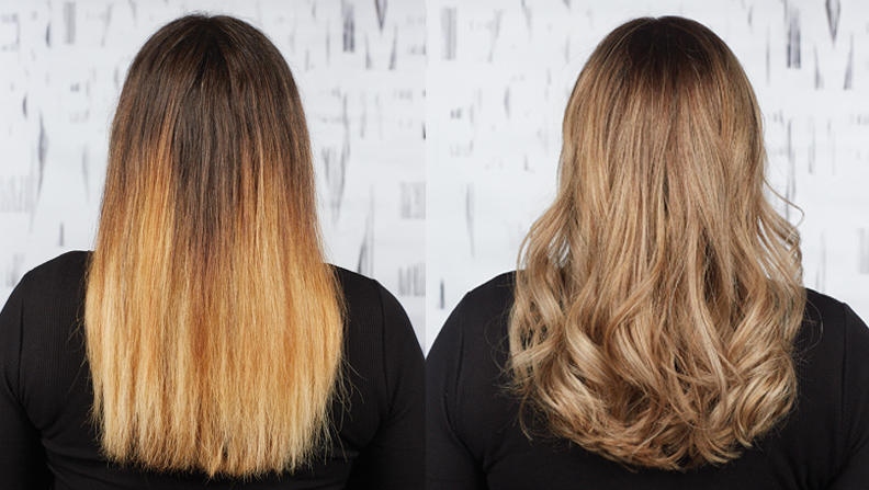 Bad color happens. See how color correction expert Cassandra McLaughlin transformed substantial regrowth with high contrast between roots and ends into a cool and creamy masterpiece.