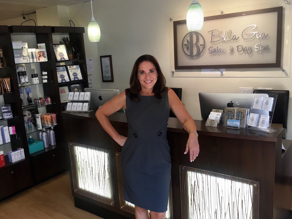 Michele Phillips, owner of Bella Gia Salon and Day Spa in San Diego, CA.
