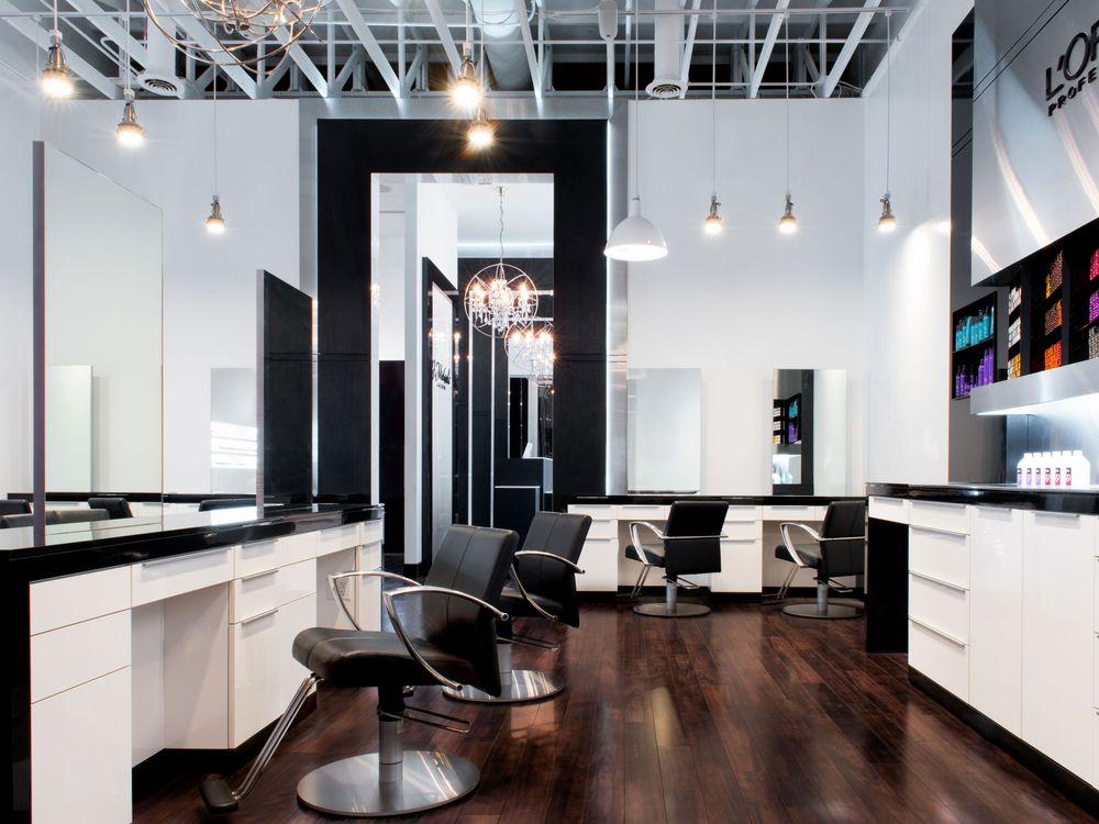 Millard Kwon Design: Jay Michaels Salon in Des Moines, Iowa