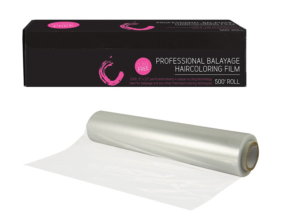 Colortrak's Cling Free Haircoloring Film