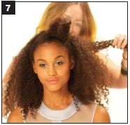 TEXTURE HOW-TO: Half-up and Half-down Finish