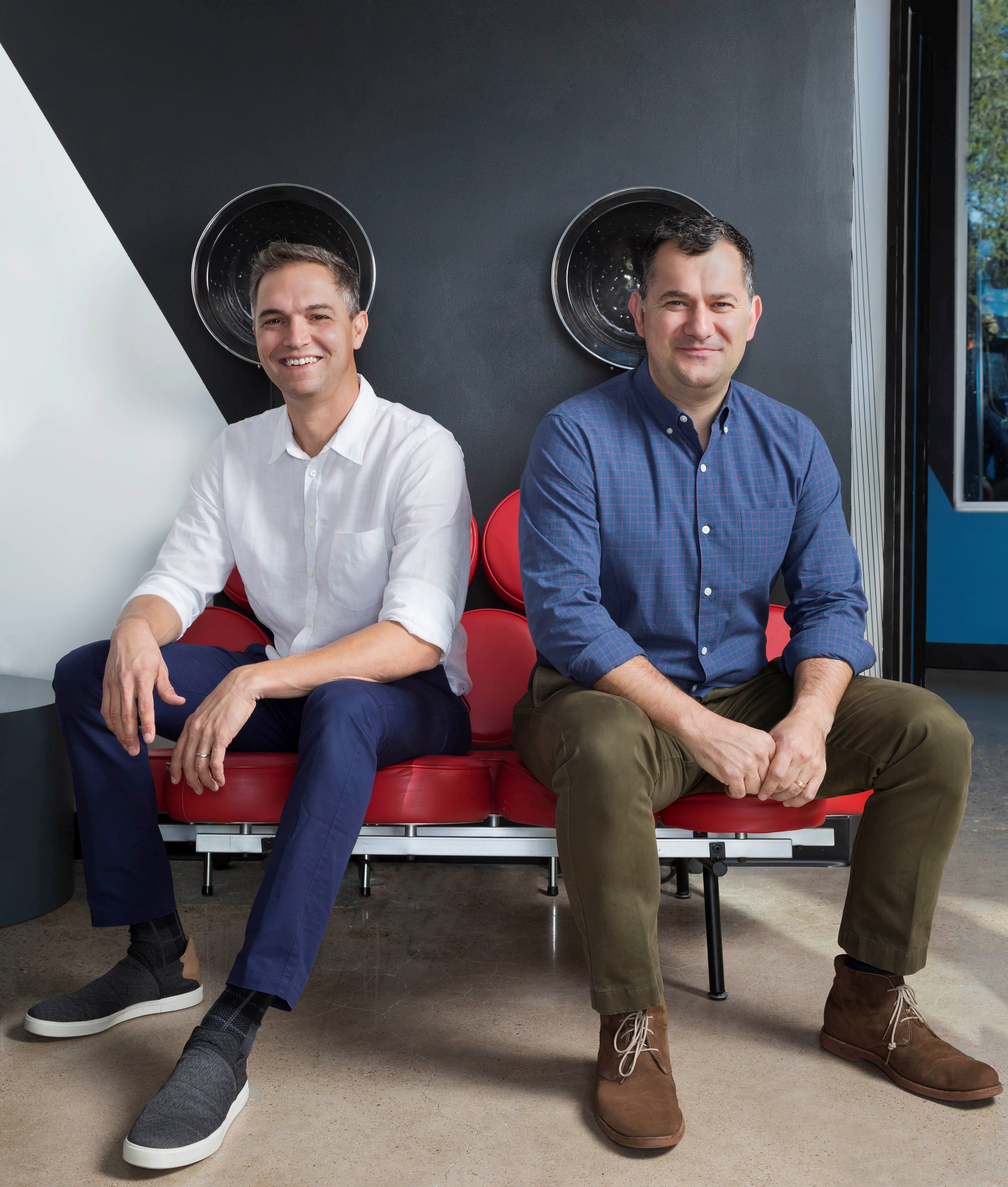 As a test pilot salon for Facebook's Workplace program,Birds Barbershops' Michael Portman and Jayson Rapaport are discovering a valuable new tool for communicating with team members across nine locations.