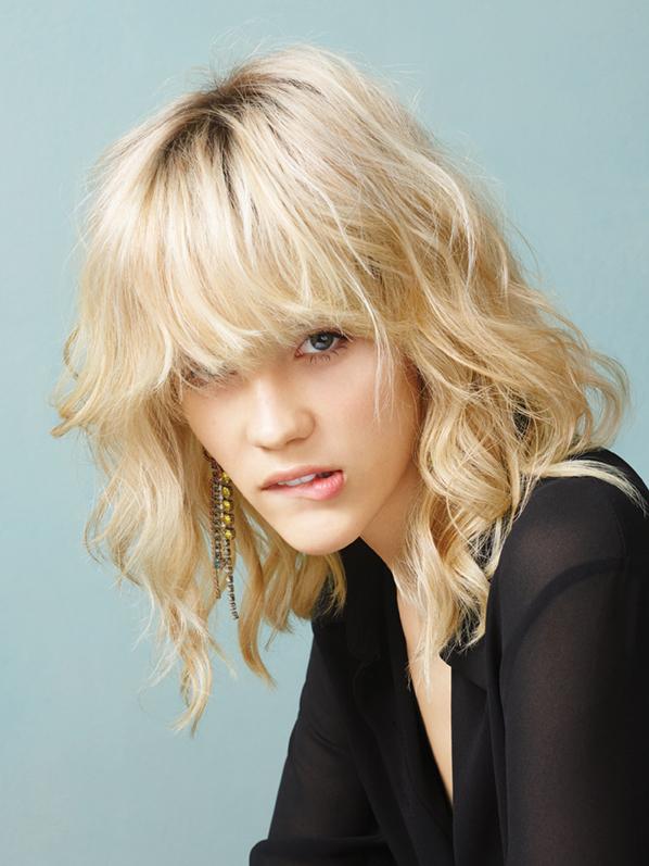 Hair: Mimmo La Serra; color: Caltagirone Daniele; photographer: Paul Maffi; makeup: Martina D'Andrea; fashion styling: Alessandra Corvasce
