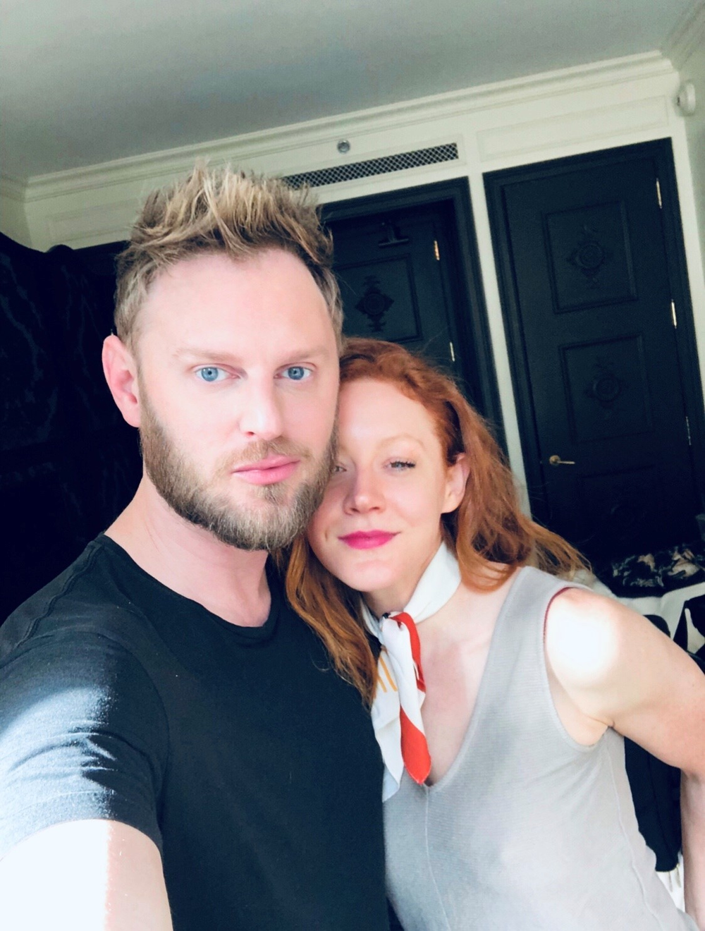 "<p>Celebrity stylist Jennifer Brent (right) uses Intelligent Nutrients certified organic hair care and skin care products on many of her ingredient-conscious clients, like <em>Queer Eye's</em> Bobby Berk. ""Bobby loves the line. His favorites include the Volumizing Foam, Volumizing Spray, Time Traveler, Revitalizing Moisture Crème, Nourishing Tonic and Lip Delivery Nutrition!"" she says.</p>"