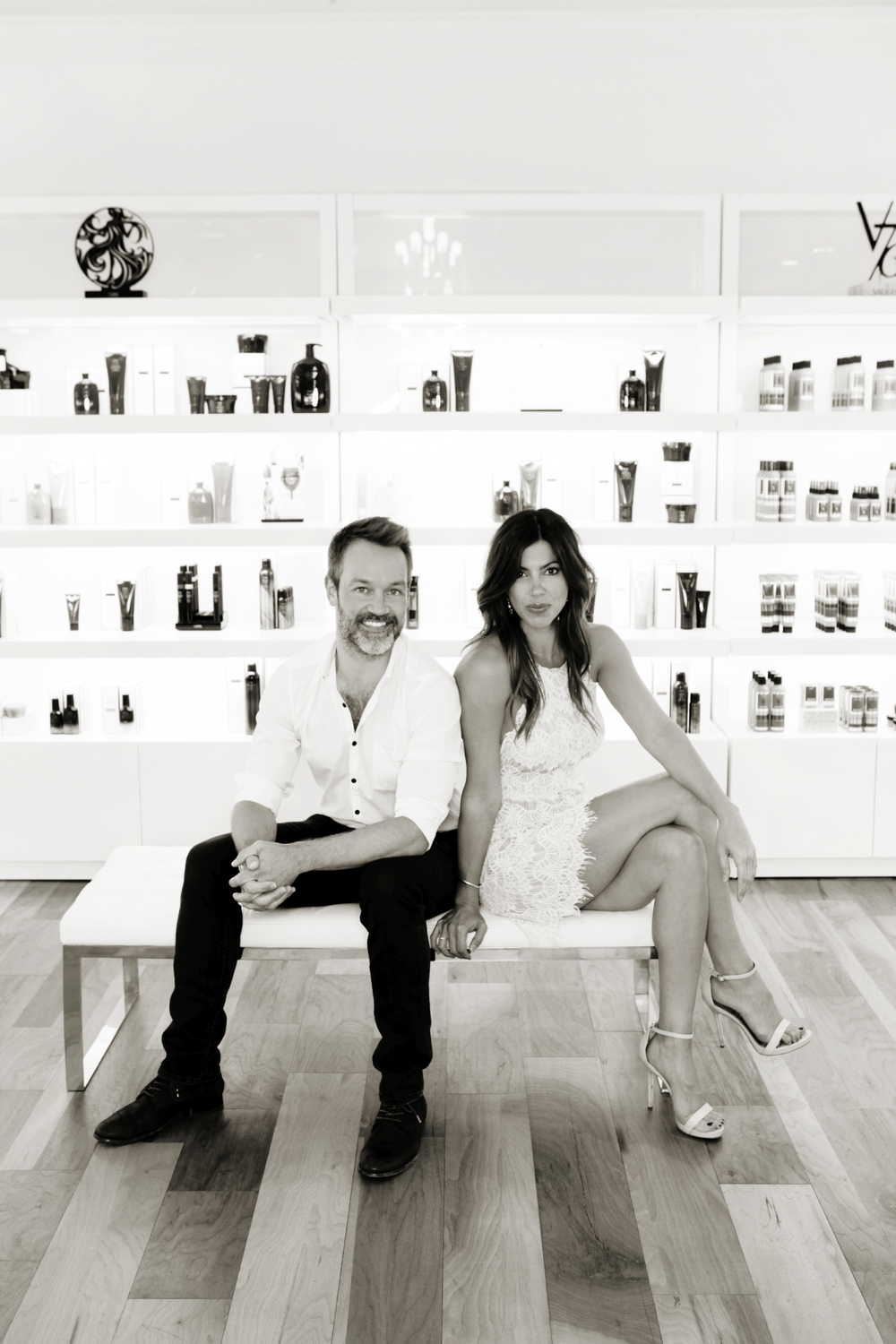 <p>Bobby Cooper and Sarah Cooper, owners of Bobby Cooper Salon, Inc., in Indianapolis, IN.</p>