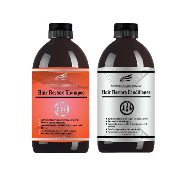 <p>Both Spex and Stacey have observed significant improvement in thinning hair with the Hair Restoration Laboratories' Hair Restore Shampoo and Conditioner Set.</p>