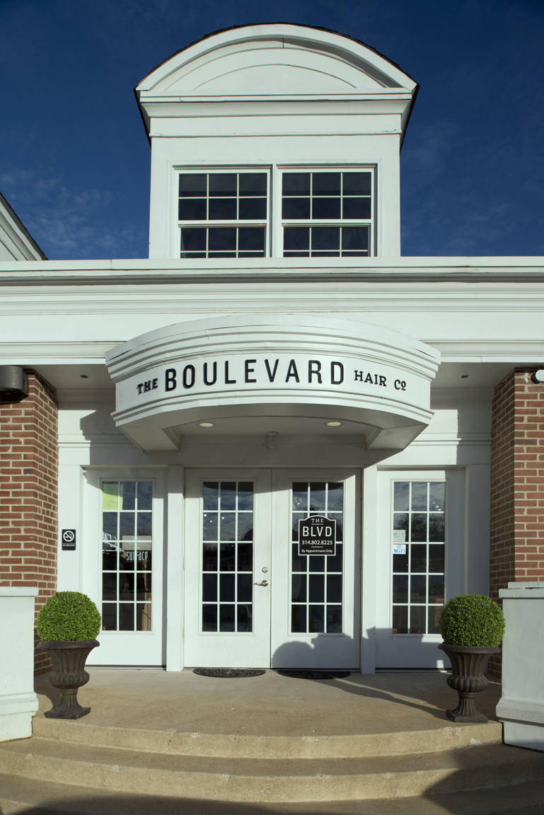The building that now houses The Boulveard Hair Company was built in the 1920s as a gymnasium
