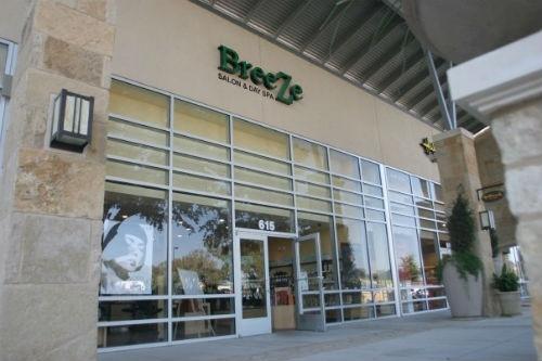 Breeze Salon & Spa in Georgetown, TX.