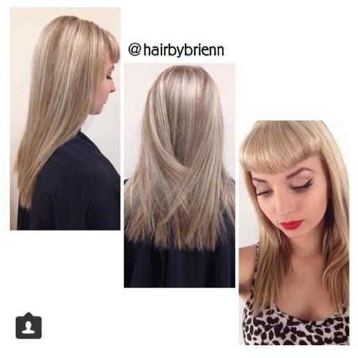 Silver-Ash Blonde Highlights