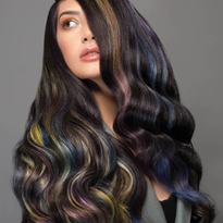Rainbow Blends Collection Uses Pravana Vivids