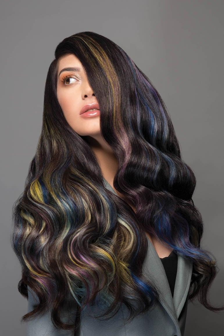 Rainbow Blends Collection Uses Pravana Vivids