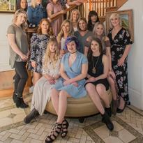The beautiful women of Brush Salon in Healdsburg, California