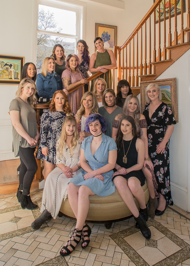 The beautiful women of Brush Salon in Healdsburg, California
