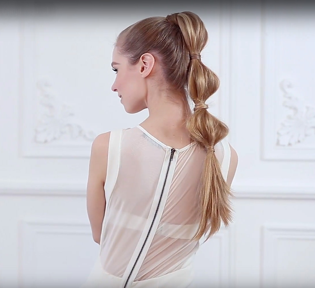 HOW-TO: Whimsical Bubble Ponytail