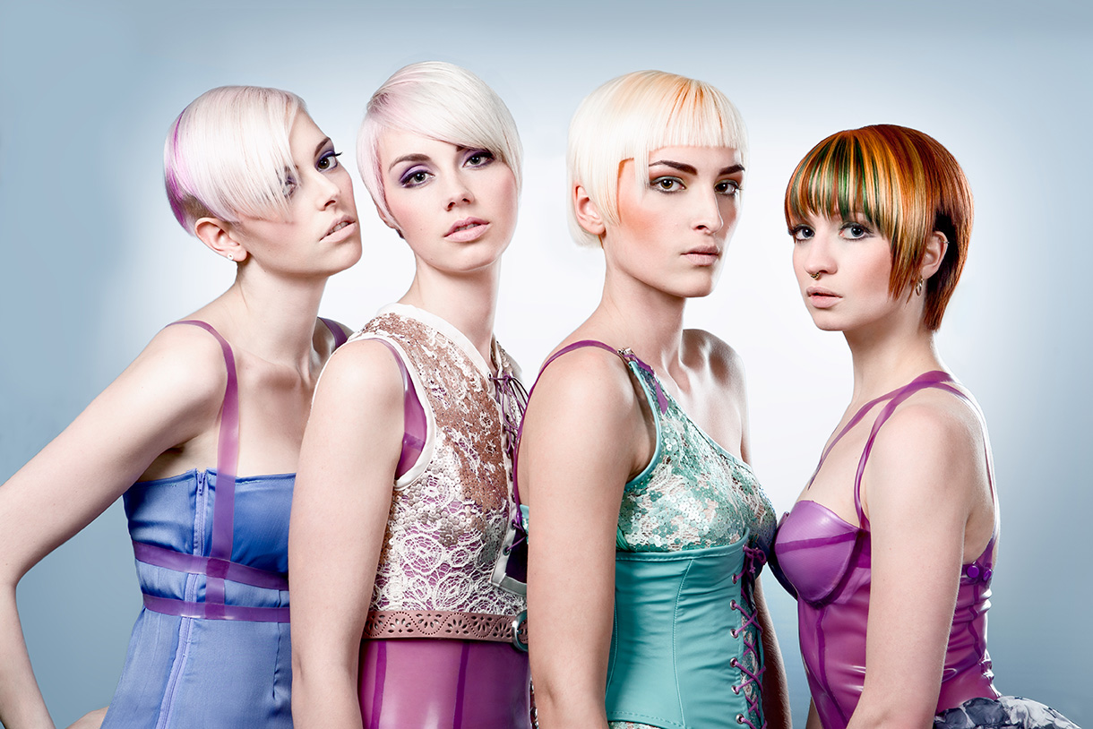 Candy Pop Hair Collection by William De Ridder