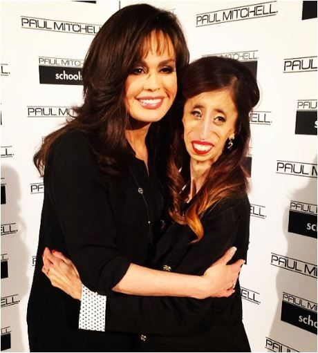 Marie Osmond and inspiring role model and featured speaker Lizzie Velazquez
