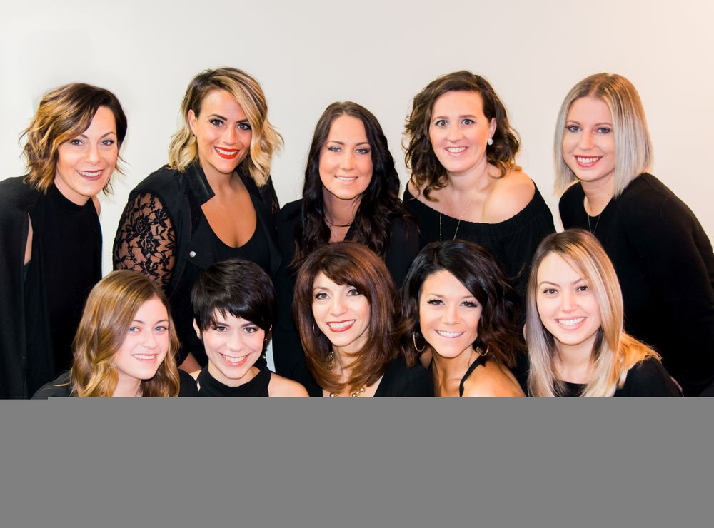 The team from Cappola Brokaw Art of Hair in Cheshire, CT.