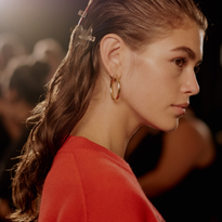 NYFW: Polished Yet Unstructured Hair by Holli Smith for Proenza Schouler and Oribe
