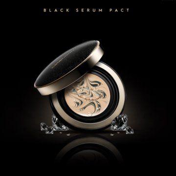 COSMOPROF: Celebeau. Black Serum Pact SPF 50+ PA+++