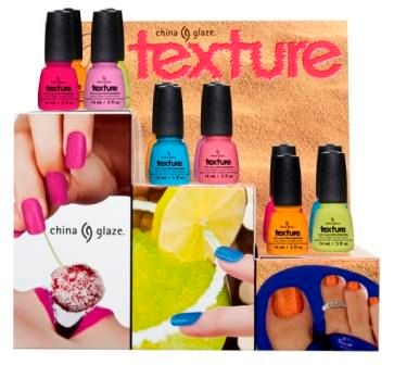 In the Rough: New Texture Polish  from China Glaze