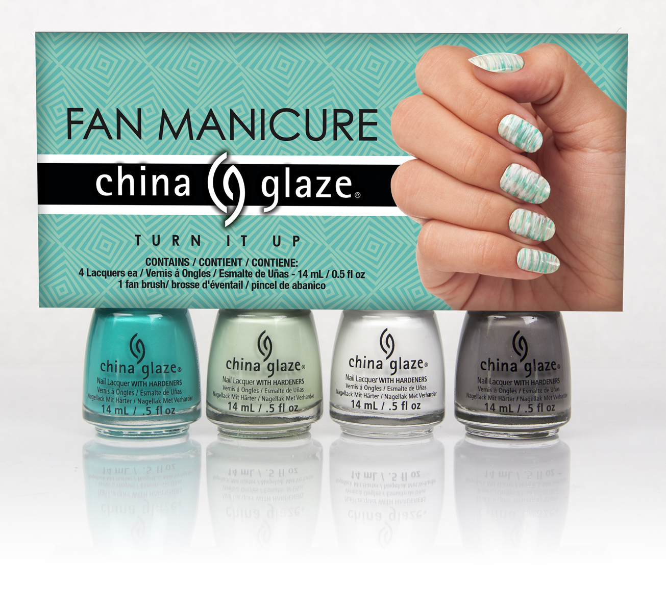 China Glaze Introduces Fan Manicure Kits