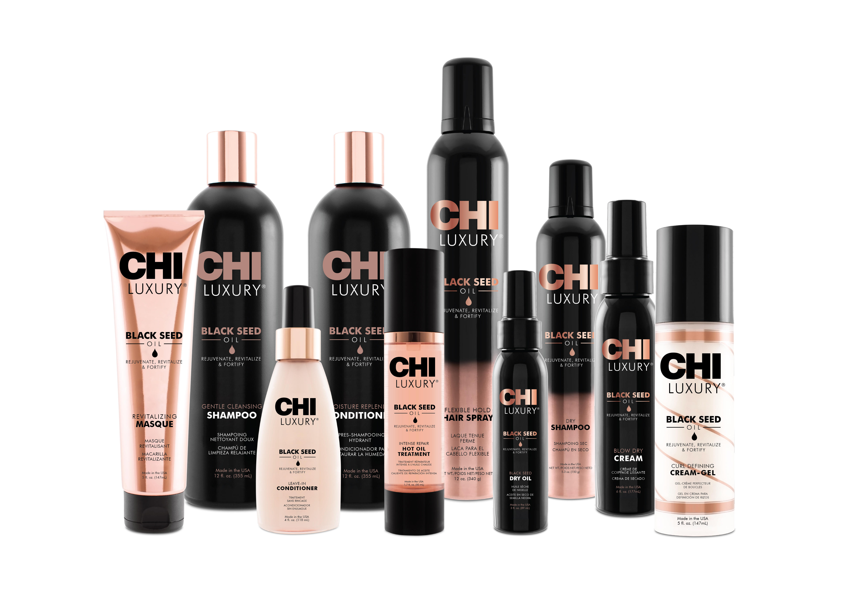 CHI Luxury Black Seed Oil Line