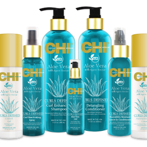 CHI Launches Aloe Vera with Agave Nectar Haircare Line