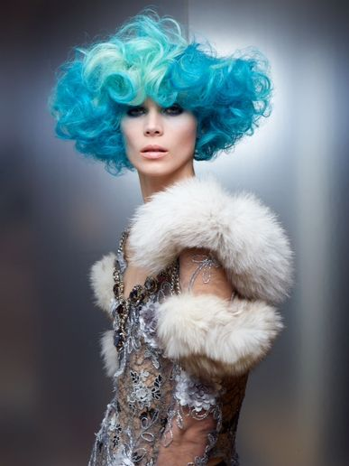 """A Fave Look From Christopher Dove's """"Capitol Couture"""" Collection"""