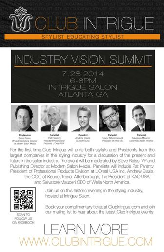 Listen to the Industry Vision Summit at Club Intrigue
