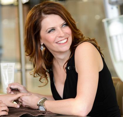 Christine Perkins, owner of Pyara Spa and Salon.