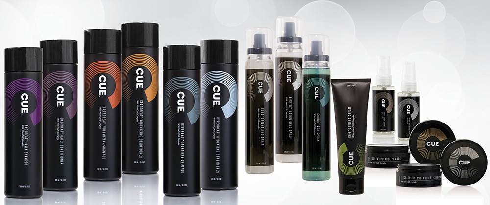 CUE (Chemistry Uniquely Expressed) Hair Care