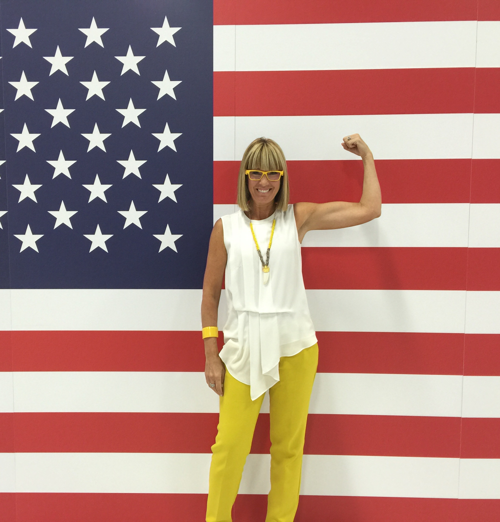 """An after-work fitness boot camp on Fridays helps keep Candy Shaw Codner and interested team members at Jamison Shaw Hairdressers in Atlanta strong. """"We literally close the door, put our yoga mats on the floor and do a class,"""" she says."""