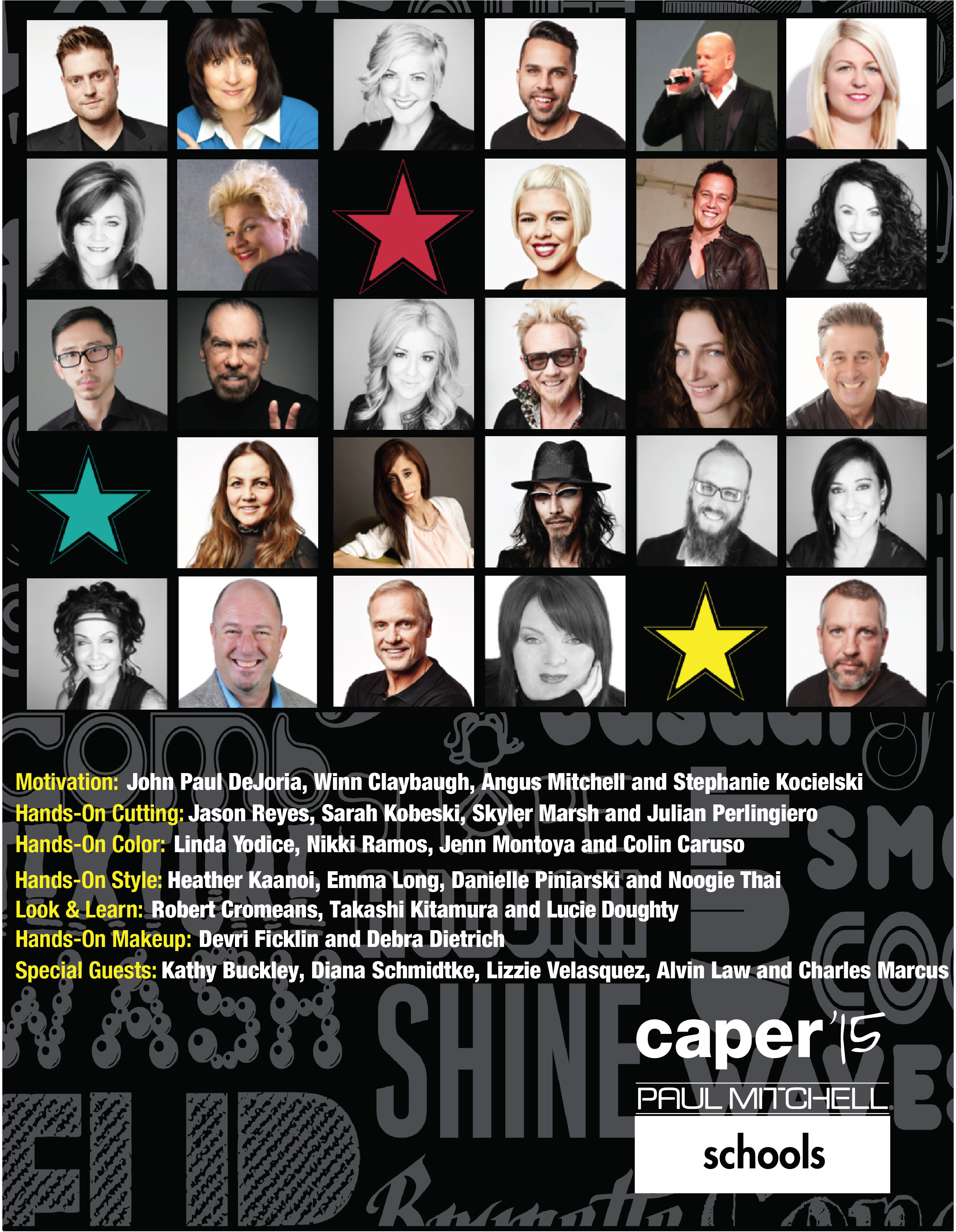#Caper15: Stellar Lineup Planned for Paul Mitchell Schools' Event