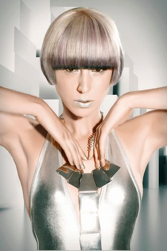 Going For The Gold in Wella's International Trend Vision