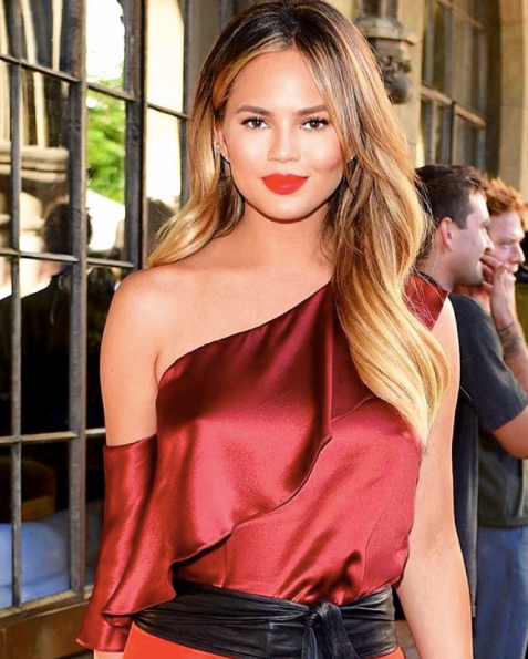 How-To: Chrissy Teigen's Fall Balayage