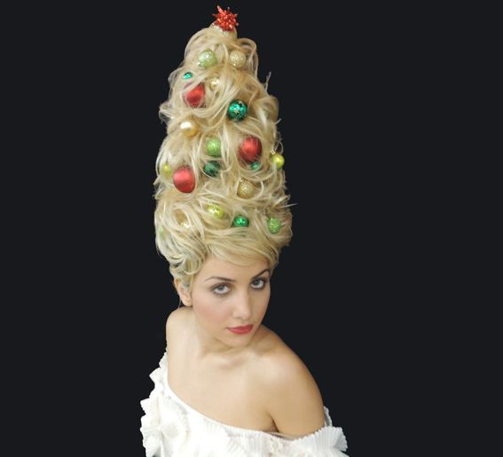 HOLIDAY HOW-TO: Create a Christmas Tree Updo