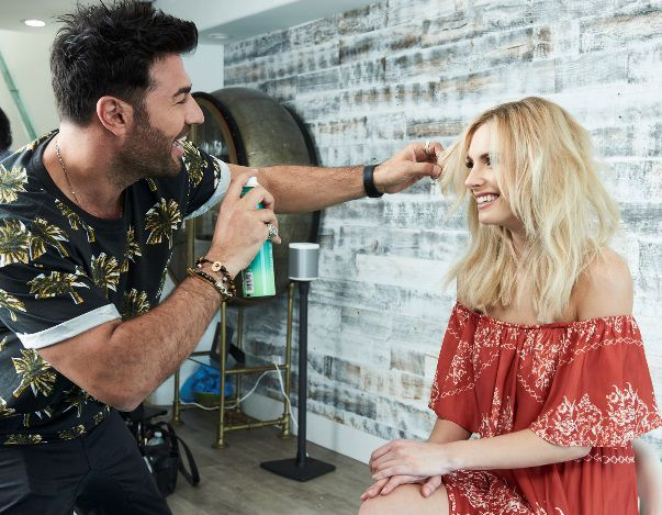 Richard Mannah has over 23 years of experience and has worked with Tommy Hilfiger and Vera Wang. Photo courtesy of Joico.