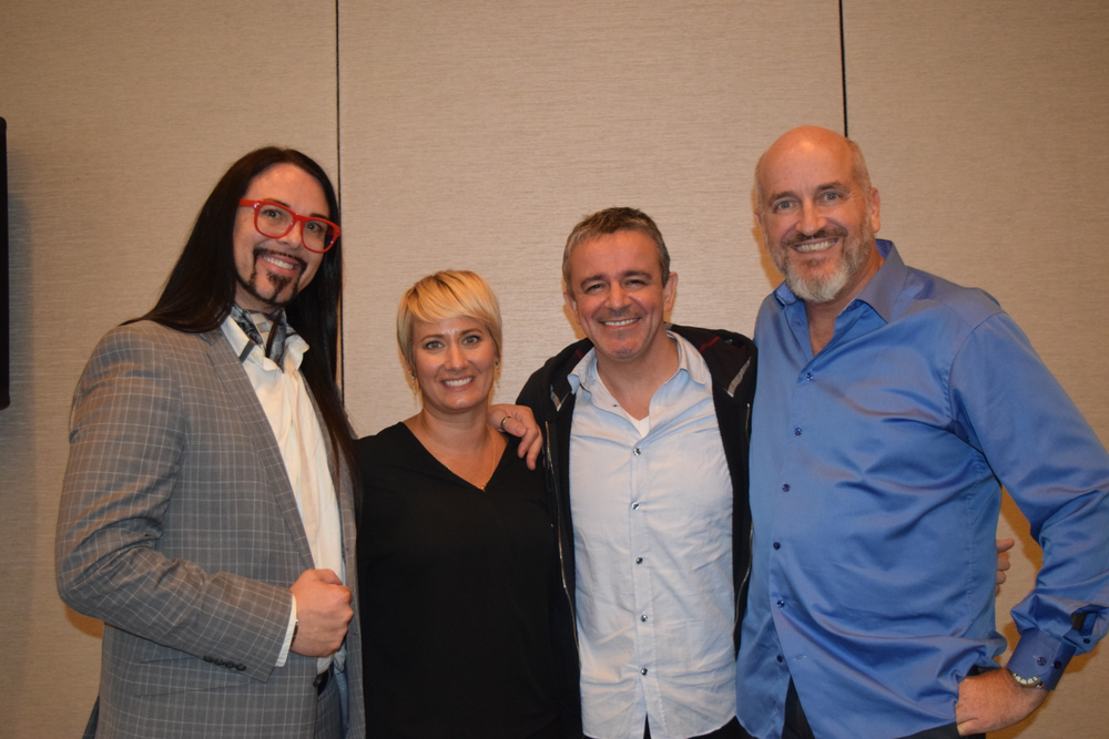 Club Intrigue opened their doors for a special panel session after the Data-Driven event with Brent Hargrave, Amanda Hair, Nick Arrojo and Jeff South.