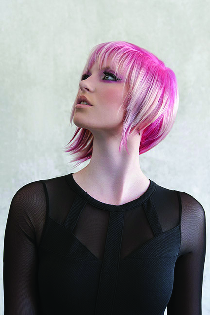 Pink facets by ColorDesign.
