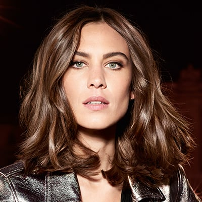 Parisian Brunette featuring Alexa Chung, L'Oreal Professionnel Brand Ambassador and International Fashion Designer, Model, Host and Author