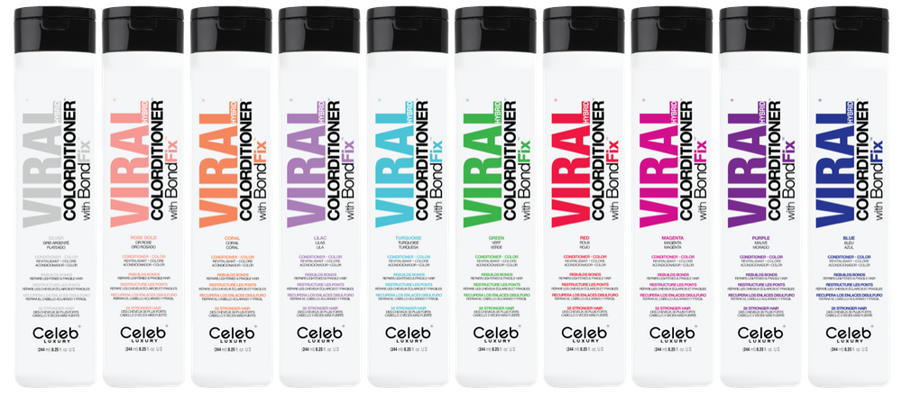 Celeb Luxury Viral Hybrid Colorditioner with BondFix