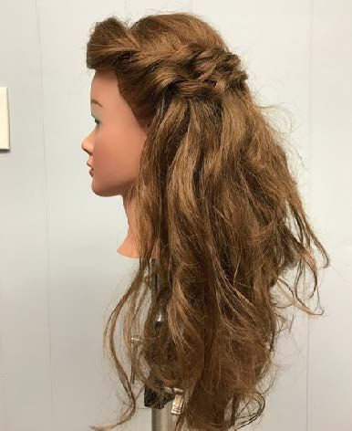 <p>Drop curls and tousle with your hands. Take side sections and do two, two strand braids on each side one on top of the other. Spritz with <strong>TextureCharge</strong> Color Protect Texture + Finishing Spray and <strong>HumidityRx</strong> Anti-Frizz Weatherproof Spray.</p>