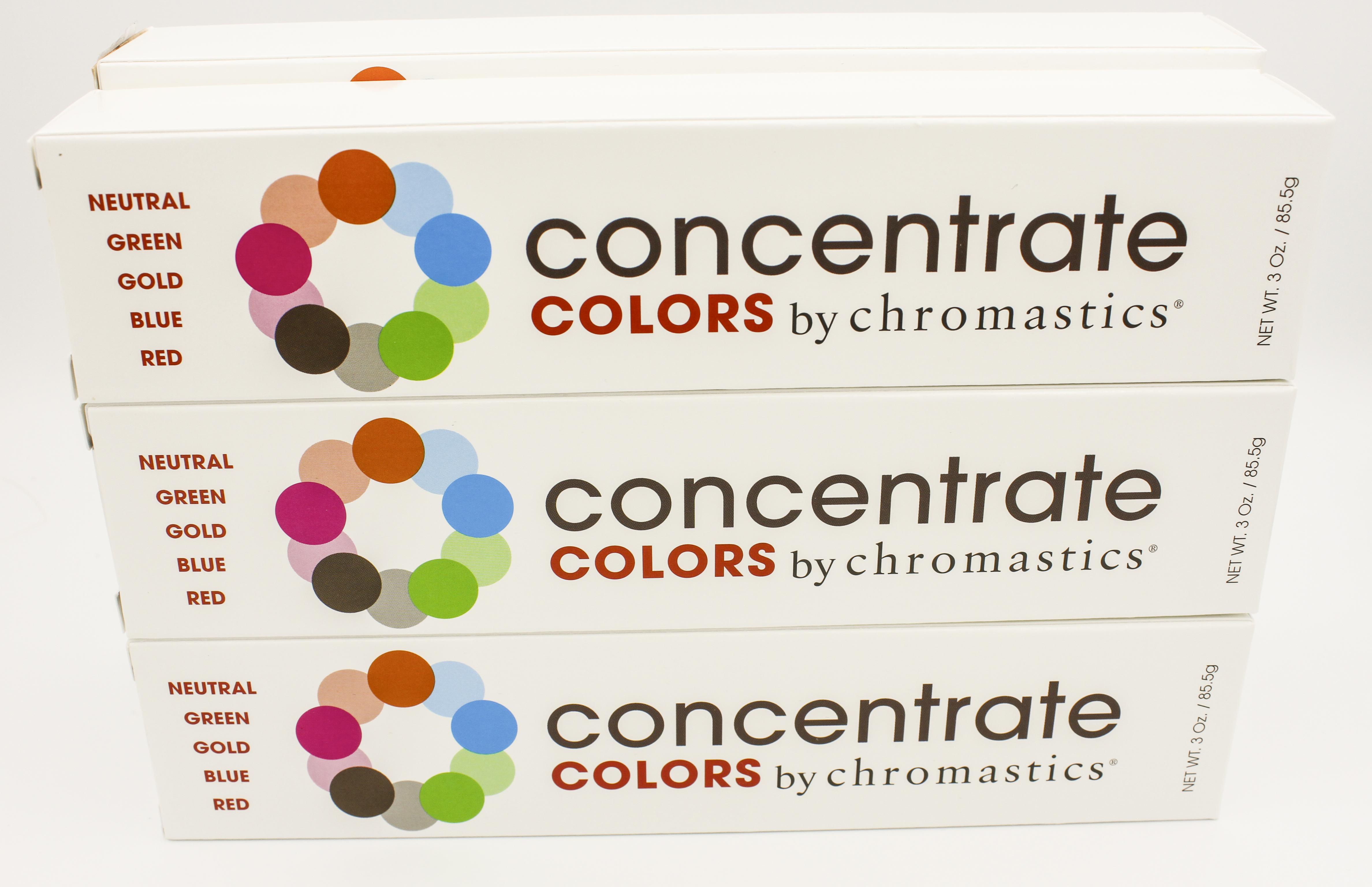 Chromastics Announces Concentrates