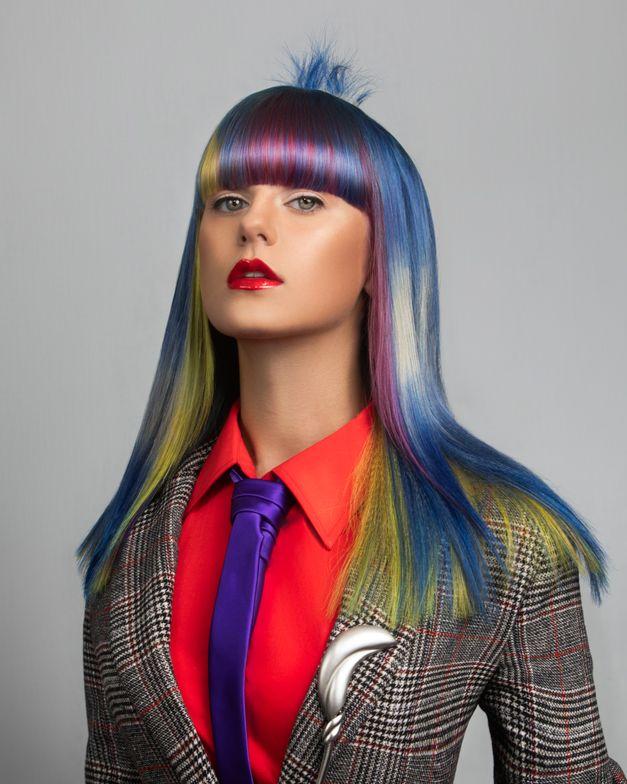 <p>Look by Sharon Majano, Trademark Salon, (Houston, TX)</p>