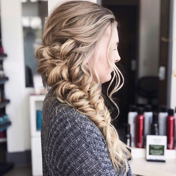 Crews says big, loose romantic waves are her favorite, and we couldn't agree more. This is stunning!