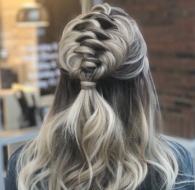 In her Instagram captios for this look, which she says look's complicated but isn't, Crews says her first love was braiding and styling.