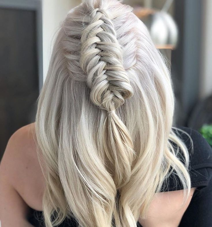 We love the details in this icy braid!