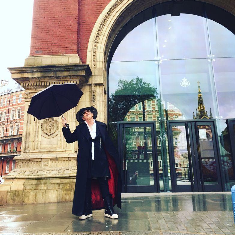 Singing in the rain?