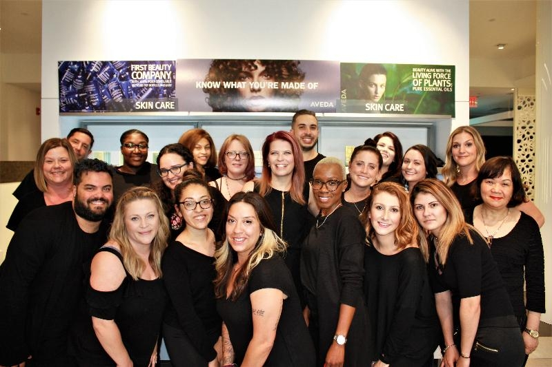 Some of the team members from Pyara Spa and Salon.
