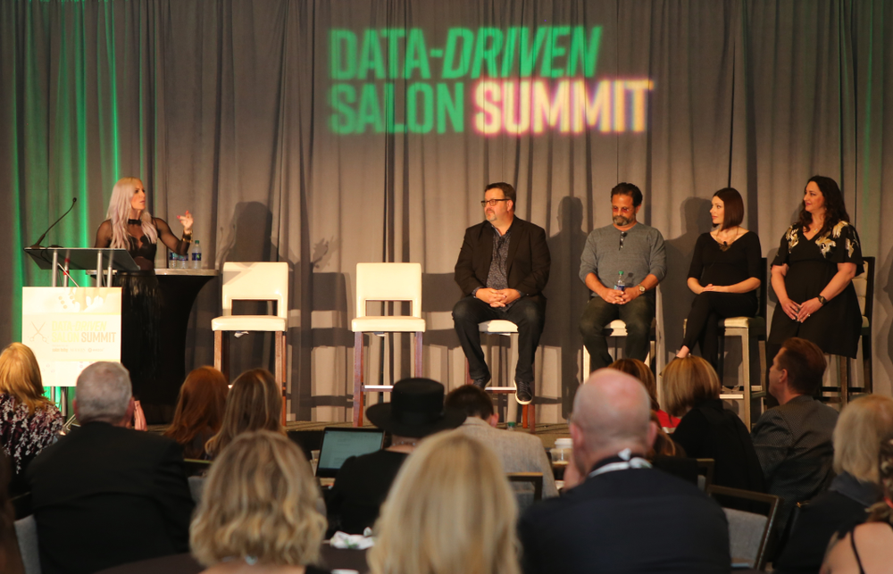 In the Culture Club panel, Neatbeat's Heather Yurko leads Salon 124's Brian Perdue, Blo's Bryan Nunes and Lunatic Fringes's Shalene Smith and Jenner Feroah discuss the best practices for building a strong salon culture.